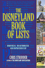 Disneyland Book of Lists by Chris Stodder