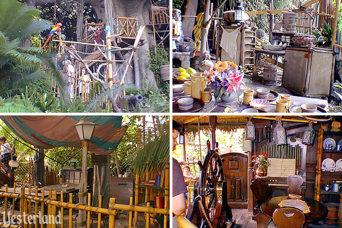 Swiss Family Treehouse At Yesterland