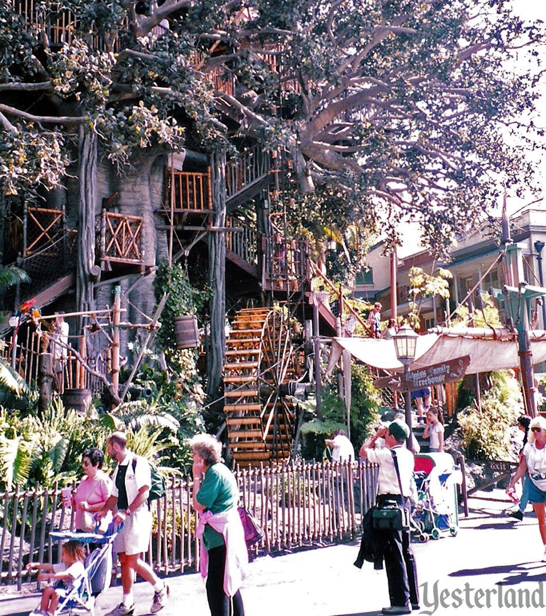 Swiss Family Treehouse, Disneyland