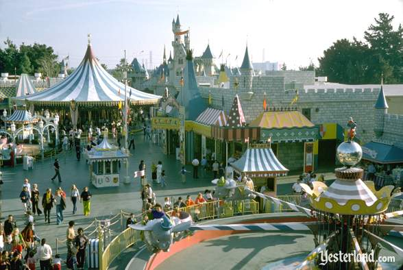 Photo of Fantasyland in 1974
