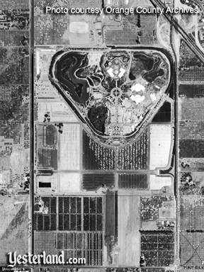 Thumbnail of Disneyland Aerial Photo, 1955