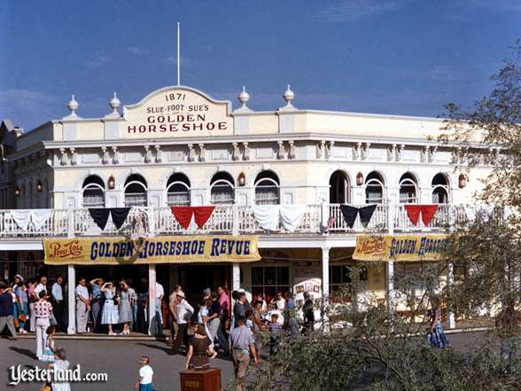 Photo of the Golden Horseshoe, circa 1956