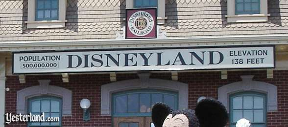 Photo of sign on Main Street Station, 2005