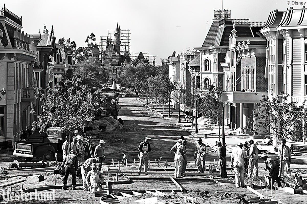 Yesterland  Did Disneyland Open July 17 Or July 18