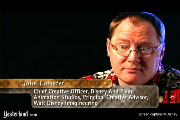 DVD Disneyland:stories, secrets and magic: critique US Dlsecretsdvd_lasseter