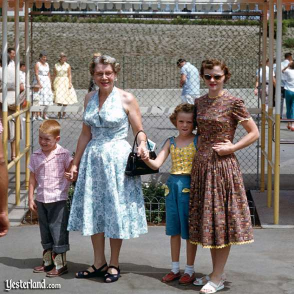 What did people wear in the 1950's?