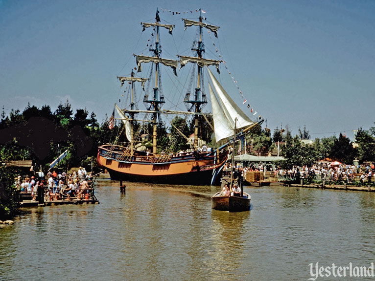 "Yesterland: Birth of the ""E"" Ticket: Sailing Ship Columbia"