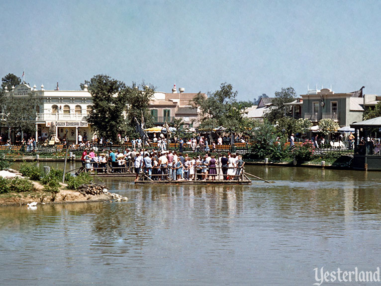 "Yesterland: Birth of the ""E"" Ticket: Tom Sawyer Island Rafts"