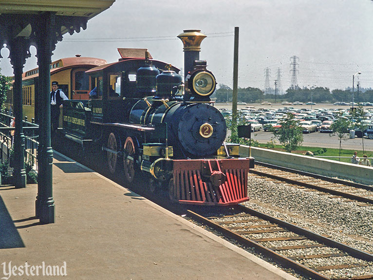 "Yesterland: Birth of the ""E"" Ticket: SF & D Railroad Trains"