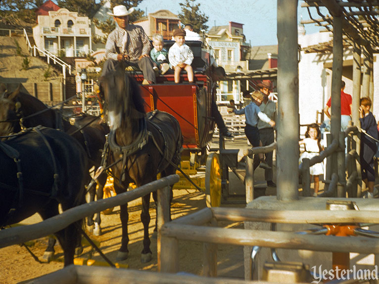 "Yesterland: Birth of the ""E"" Ticket: Rainbow Mt. Stage Coaches"