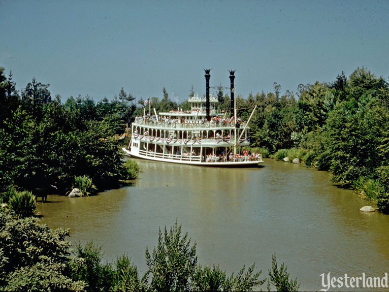 "Yesterland: Birth of the ""E"" Ticket: Mark Twain Steamboat"