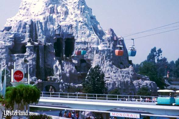 Photo of Matterhorn exterior, with Skyway entering