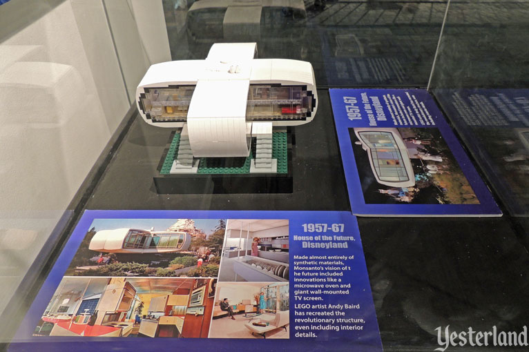 LEGO model of Disneyland's House of the Future at POPnology, LA County Fair, 2015