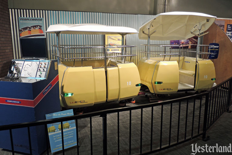 PeopleMover cars at POPnology, LA County Fair, 2015
