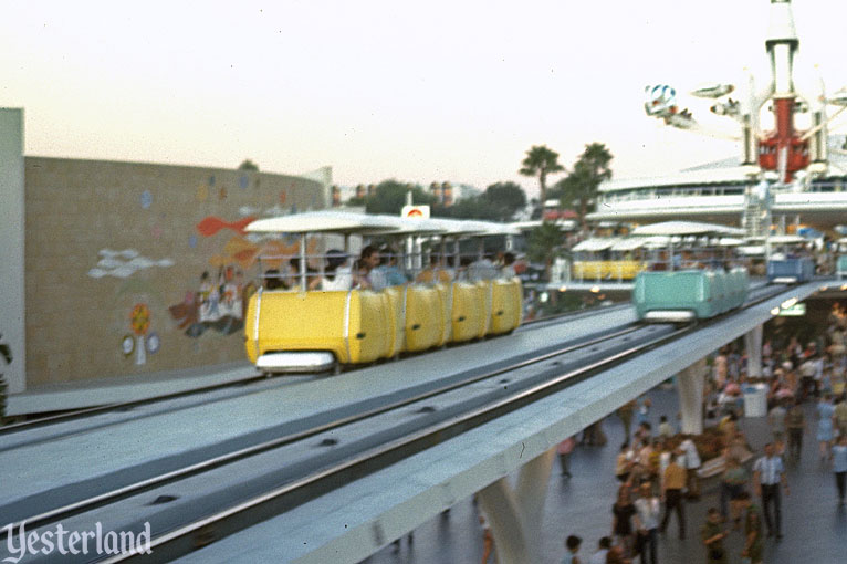 Goodyear PeopleMover at Disneyland