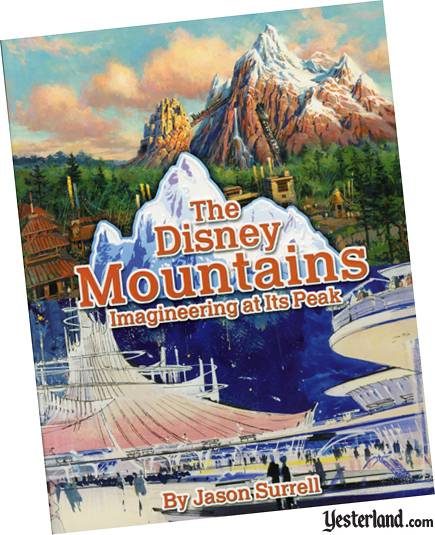Scan of The Disney Mountains book cover