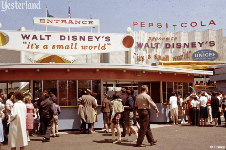 """it's a small world"" at New York World's Fair"