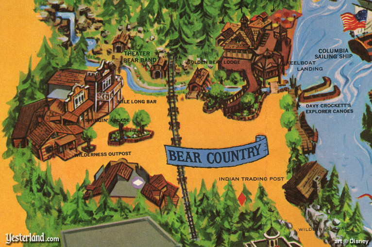 photos for an article about Bear County at Yesterland.com
