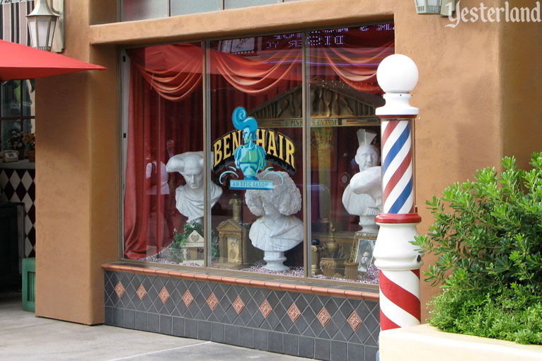 Ben Hair, Hollywood Studios Backlot at Disney California Adventure