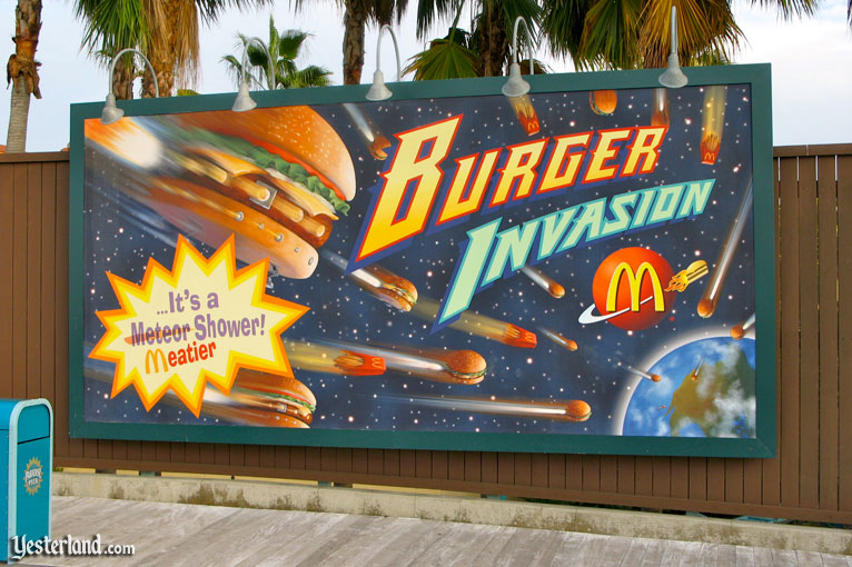 Burger Invasion at Disney's California Adventure