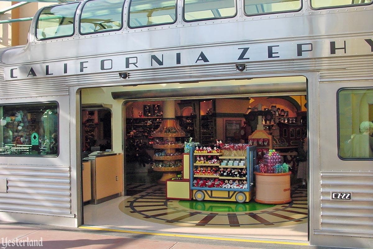 Yesterland California Zephyr