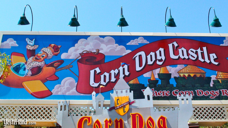 Corn Dog Castle at Disneyland