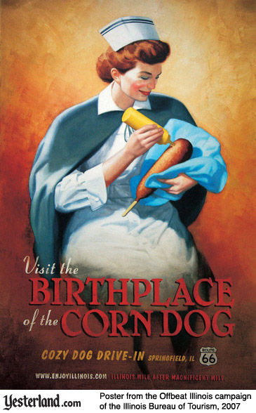 Visit the Birthplace of the Corn Dog (Illinois Bureau of Tourism)