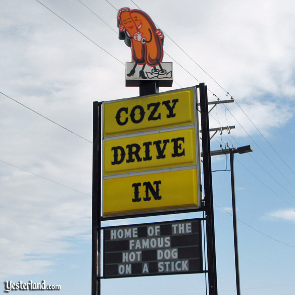 Cozy Dog Drive-in Sign, Springfield, Illinois