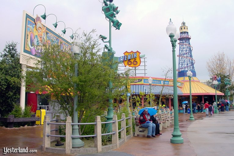 Christmas in 2001 at Disney's California Adventure