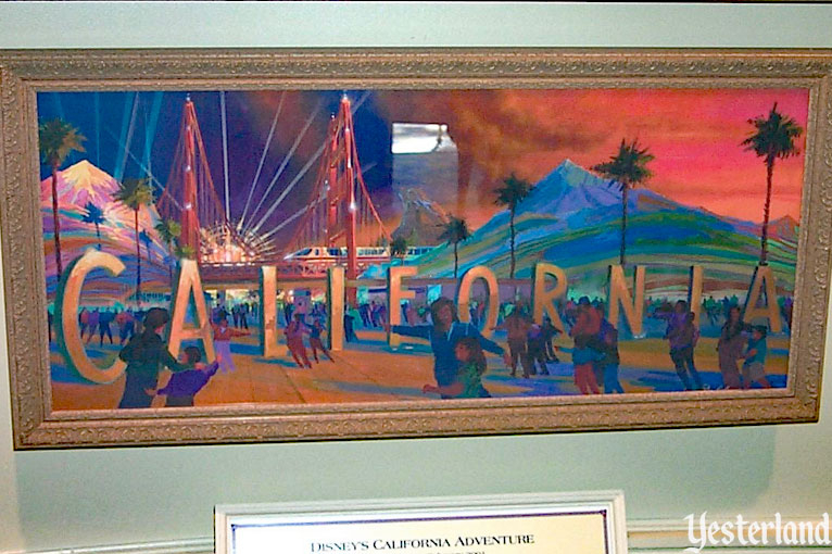 Disney's California Adventure Preview Center at Disneyland