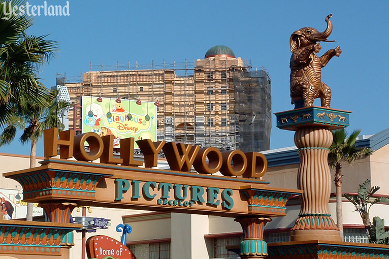 Hollywood Pictures Backlot Elephants at Disney California Adventure