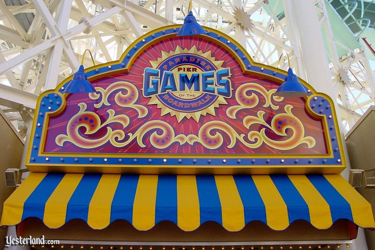 Games of the Boardwalk at Disney's California Adventure