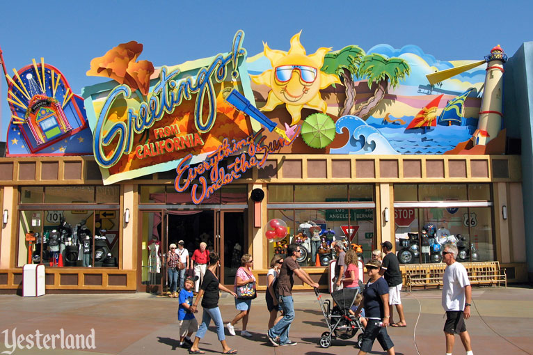 Yesterland greetings from california greetings from california at disneys california adventure m4hsunfo