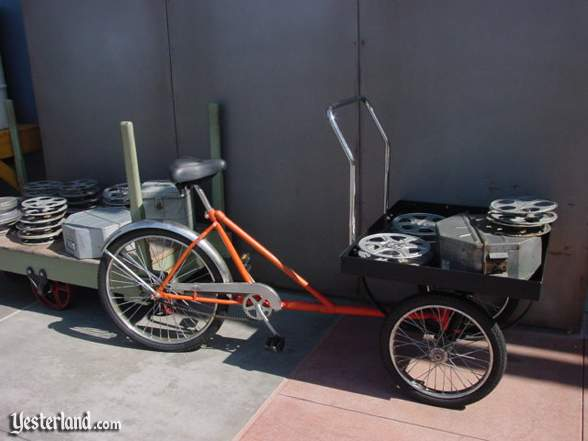 Photograph of studio bike at Hollywood & Dine