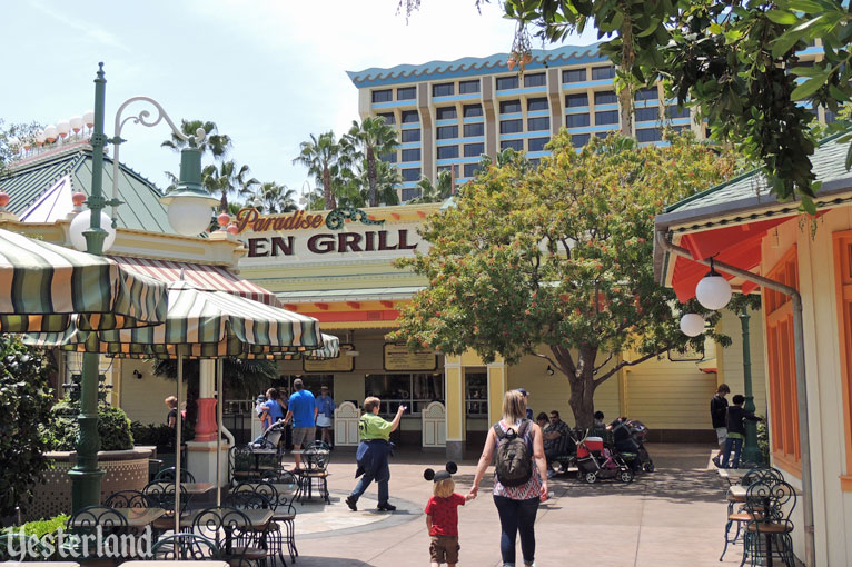 Disney's Paradise Pier Hotel from Disney California Adventure