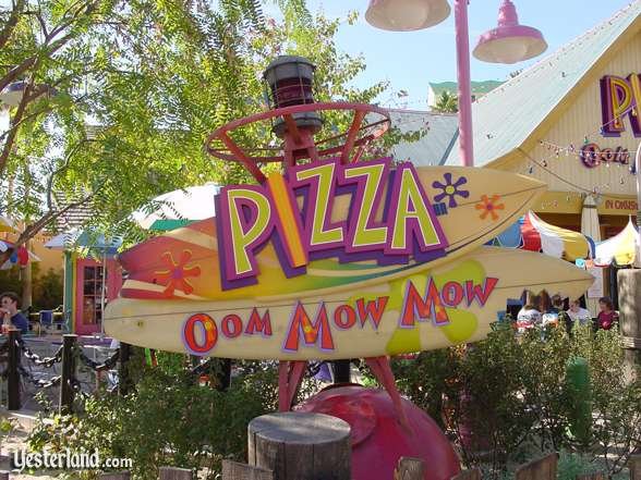Pizza Oom Mow Mow sign