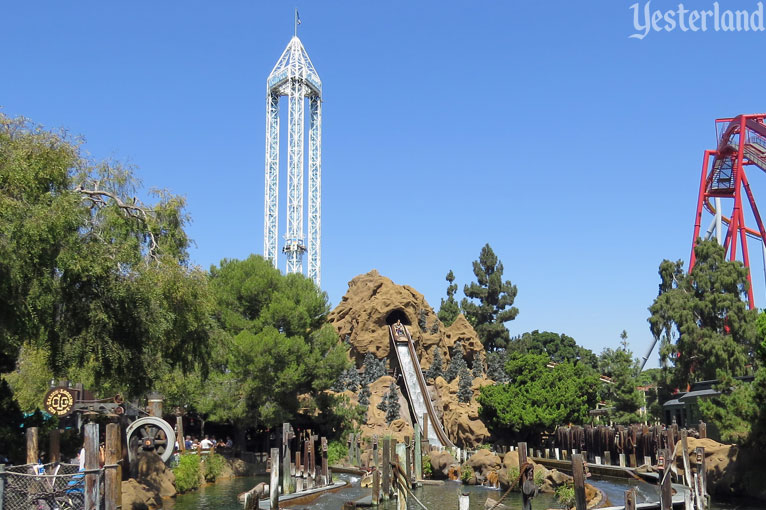 Supreme Scream and Timber Mountain Log Ride at Knott's Berry Farm