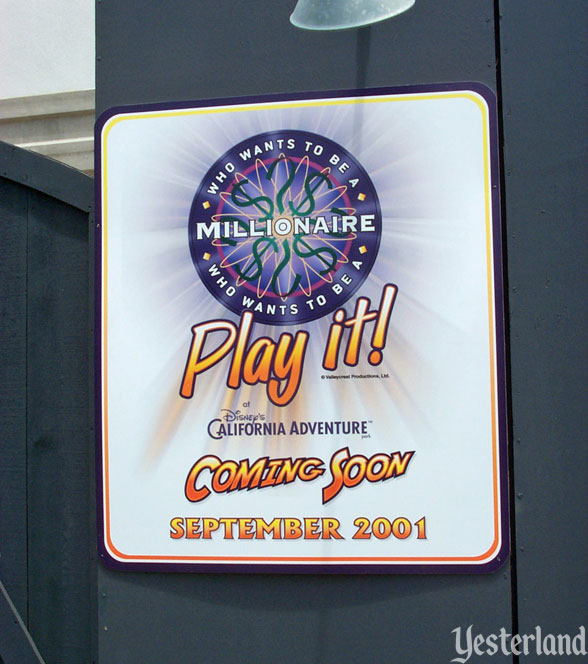 Who Wants to Be a Millionaire - Play It! at Disney's California Adventure