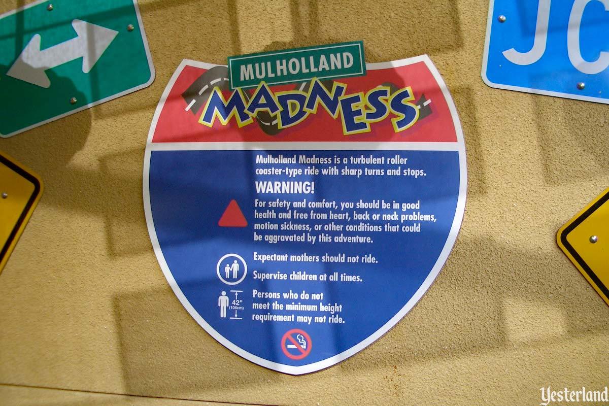 Yesterland Mulholland Madness