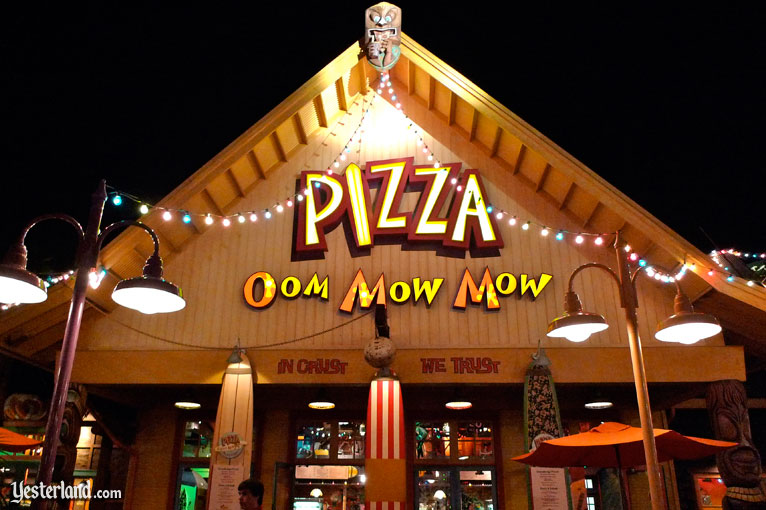 Pizza Oom Mow Mow at Disney's California Adventure