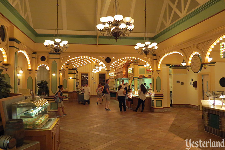 Boardwalk Pizza & Pasta interior at Disney California Adventure