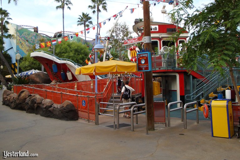S.S. rustworthy at Disney's California Adventure