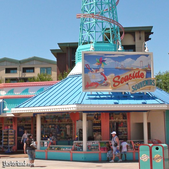 Seaside Souvenirs at Disney California Adventurea