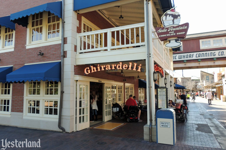 Ghirardelli Soda Fountain and Chocolate Shop at Disney California Adventure