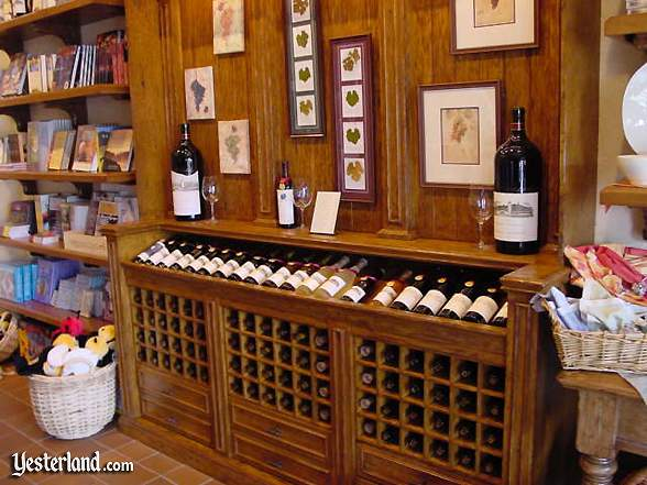 Wine Country Market wine display
