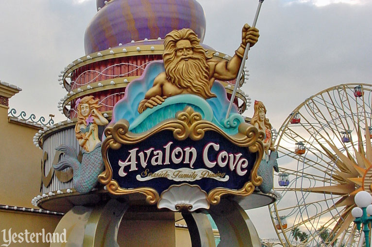 Avalon Cove at Disney's California Adventure, 2001