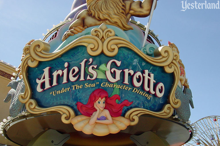 Ariel's Grotto at Disney's California Adventure, 2003