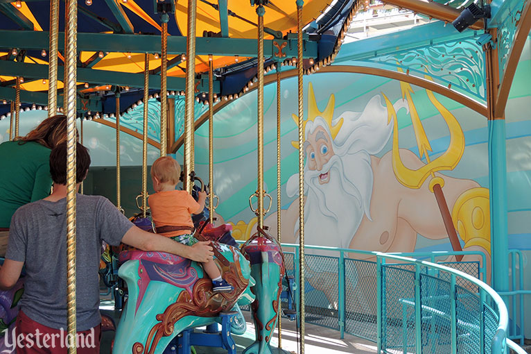 King Triton's Carousel of the Sea at Disney California Adventure
