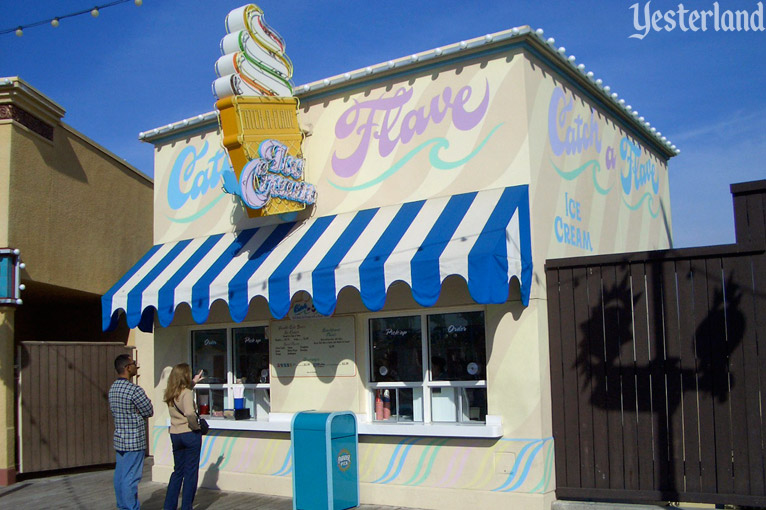 Catch a Flave Ice Cream at Disney California Adventure
