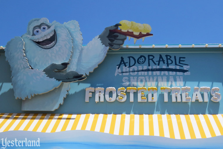 Adorable Snowman Frosted Treats at Disney California Adventure